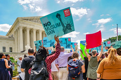 2018.06.26 Muslim Ban Decision Day, Supreme Court, Washington, DC USA 04058