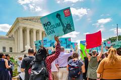 2018.06.26 Muslim Ban Decision Day, Supreme Court, Washington, DC USA 04058