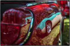 Reflections (drpeterrath) Tags: canon eos5dsr 5dsr car auto automobile classic show intage color reflection sanmarino red dof outdoor depthoffield losangeles