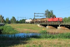 DB Cargo 6416 @ Zwolle (Sicco Dierdorp) Tags: db dbc cargo serie6400 ketelwagen keteltrein unitcargo onnen kijfhoek meppel zwolle brug wetering herfte