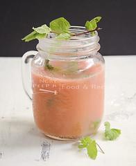 Strawberry Revelry (Hungry Peepor) Tags: strawberry juice lemon orange blended chilled fruit drink