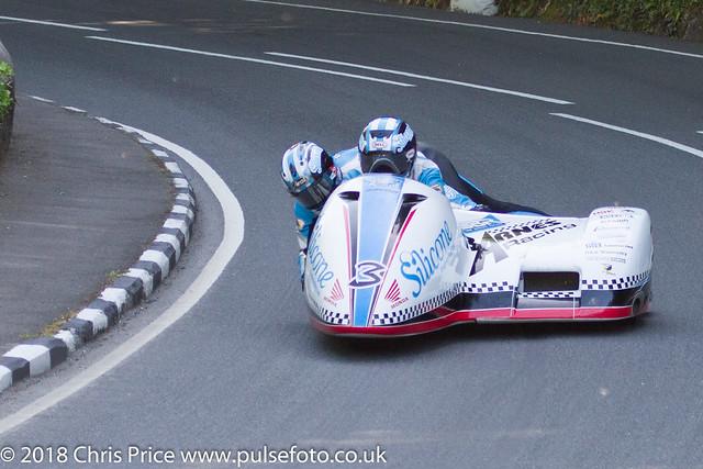 Isle of Man TT 2018: Sidecar Qualifying 6th June