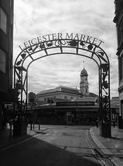 Leicester Market (Dun.can) Tags: summer leicestermarket leicester market blackwhite