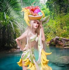 Brazilian Banana Bonanza (RockWan FR) Tags: brazilianbananabonanza raynaahmadi madlove nuface fashionroyalty integritytoys