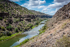 Rio Grande River (kellyjrusso) Tags: rock d750 landscape water formation riograndegorge wild river newmexico hiking riogranderiver outdoors sunlight taos nikon gorge outdoor