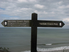 The Nortfolk Coast Path at Sheringham (JonCombe) Tags: norfolk coastwalk208 sheringham cromer salthouse coast path england norfolkcoastpath englandcoastpath