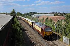 67021 Worcester 7 July 2018 (1V44 (Chris Morrison)) Tags: belmondbritishpullman 67021 metalboxworcester worcestertrains pullman pullmancarriages
