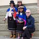 I cappelli tipici della popolazione indigena Guambiana