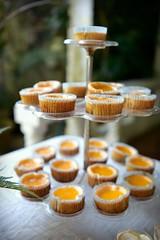 Mandarin orange cheesecake cups (*Amanda Richards) Tags: edible food treats birthday party menu cheesecake mandarin orange