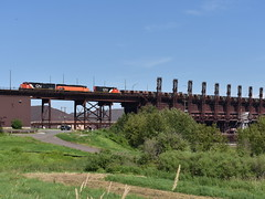 Down at the docks (Robby Gragg) Tags: cn sd40t3 405 duluth dmir