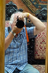 Graham Through The Looking Glass (Big G1948) Tags: wells reclamationcentre reflections throughthelookingglass