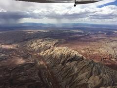 The Utah Landscape (Jim Bagley) Tags: flying landscape rain weather grandstaircase utah