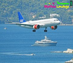 "SE-ROD SAS Airbus A320NEO • <a style=""font-size:0.8em;"" href=""http://www.flickr.com/photos/146444282@N02/29759390018/"" target=""_blank"">View on Flickr</a>"