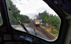 Great Central Railway Quorn Leicestershire 26th July 2018 (loose_grip_99) Tags: greatcentral railway railroad rail gcr leicestershire eastmidlands england uk diesel engine locomotive class37 37714 secondman footplate train preservation transportation trains railways july 2018 5305la