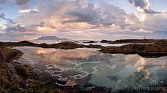 Plagiarism Pool Panorama (Panorama Paul) Tags: paulbruinsphotography wwwpaulbruinscoza southafrica westerncape capetown tablemountain blaauwbergbeach sunset mountain rockpool clouds nikond800 nikkorlenses nikfilters panorama