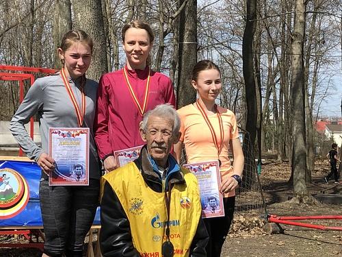 Победитель и призеры Курской области по кроссу. Молодежь. 3 километра.