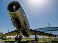 Mystère IV (rDLE_) Tags: aircraft old toulouse blagnac plane avion chasseur mystere iv 4 dassault