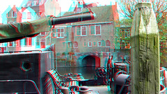 Delfshaven Rotterdam 3D (wim hoppenbrouwers) Tags: delfshaven rotterdam 3d anaglyph stereo redcyan