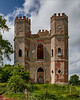 Belvedere, The Folly at Powderham Castle. (WatsonMike) Tags: belvedere belvederetower ipsv0462 monument powderham powderhamcastle tourism tower building castle folly historic landmark steeple stone