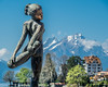 Female Dancer Sculpture (2003) by Rolf Brem, Weggis, Switzerland (jag9889) Tags: 2018 20180417 6353 art artwork ch cantonlucerne cantonoflucerne centralswitzerland dancer europe figure helvetia innerschweiz kantonluzern kunst lu lucerne luzern mountain outdoor pilatus plastik rolfbrem schweiz sculpture skulptur suisse suiza suizra svizzera swiss switzerland weggis woman wäggis zentralschweiz jag9889