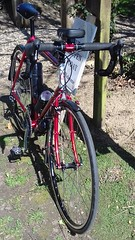 Roberts Transcontinental Red Classic British Touring Bike Frame (drbw120367) Tags: cool cult roberts transcontinental classic retro modern steel british vintage bespoke racing tourer touring bike cycle 700c sks ruby red silver black frame kcnc m5 tune hudz fizik pro shimano thomson trp chrisking brooks b17 titanium dt swiss continental atozi xtr hope mono rs duraace elite x4 masterpiece carbon cyclocross bars p35 m6 campagnolo nos 10sp gears handlebars road racer qr blk bartape 36h tk540 rims fcm970 rdm980sgs fdm971 pdm985 csm980 slbs78 hubs build ssl