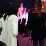 Zakulisje snemanja videa Agencija 22 z Bernardo Conič.