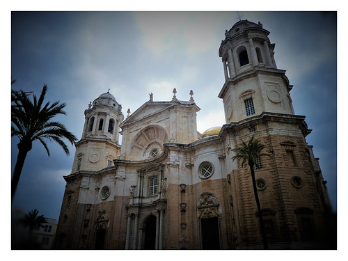 Catedral de Cádiz. Andalucía.