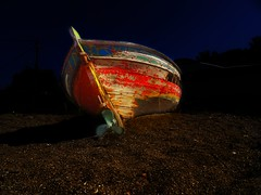 On the stars (panoskaralis) Tags: boat fishingboats abandoned wood woodenboad sand vessel red fishing outdoor tartibeach lesvos lesvosisland mytilene greece greek hellas hellenic aegean aegeansea sonydschx60 sony
