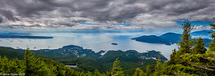 Eagle Bluff-Pano.jpg (jamiepacker99) Tags: 2018 vancouver blackmountain june landscape eaglebluff summer canonef1635mmf28liiusmlens canada howesound westvancouver bc canoncanoneos6d snow bowenisland
