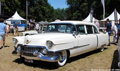 Cadillac Series 75 Fleetwood Imperial Limousine 1954 (XBXG) Tags: dh6051 cadillac series 75 fleetwood imperial limousine 1954 cadillacseries75 cadillacfleetwood caddy limo blanc white v8 lpg gpl concours délégance 2018 paleis het loo apeldoorn nederland holland netherlands paysbas vintage old classic american car auto automobile voiture ancienne américaine us usa vehicle outdoor