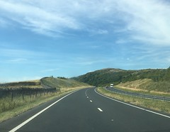The A590 at Ayside Cumbria. This fairly new section of road bypassed a bottleneck at High Newton and offers some wonderful scenery. (Bennydorm) Tags: iphone6s scenery view hills motoring inglaterra inghilterra angleterre europe uk gb britain england cumbria ayside julio luglio juli july clouds a590 aroad road