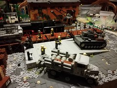 95% complete (kr1minal) Tags: lego diorama wwii worldwar nazi german moc bricks brickmania