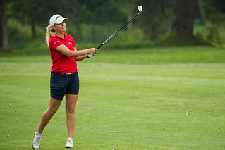 Celine Borge of Norway during the second round