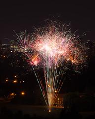 Canada Day Fireworks 4 (Rackelh) Tags: fireworks canada night sky dark bright colours toronto celebration