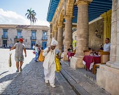 Street in Havana (kpete58) Tags: havana cuba caribbean street city people warm fish woman view