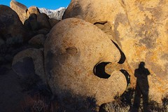 Fish Head Rock: Destroyer of Worlds & Shadows (RStonejr) Tags: flickrnature beautiful 1855mmkitlens 1855mm kitlens wild dslr 80d canon80d canon hwy395 highway395 us395 usa american america exploring holidayfun holiday moon food yellow natures morning summerfun fun summer shadow monsterfish monsterfishhead monster destroyerofshadows destroyerofmen destroyerofworlds rossstone ross stone june2018 june explore unofficial flickr landscape old new sierranevadamountains nature california boulders earth inyocounty inyo owensvalley graboidcountry graboid graboids tremors easternsierras art natural fishheadrock fishhead lonepine alabamahills