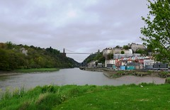 Cumberland Basin, Clifton Suspension Bridge (jacquemart) Tags: bristol brunel cumberlandbasin docks riveravon locks cliftonsuspensionbridge