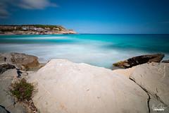 Cala Mesquida (florianpluecker) Tags: cala mesquida mallorca summer wasser long time exposure langzeitbelichtung blue wellen waves canon haida