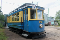 Beamish Museum Tram: 196 (emdjt42) Tags: tram beamish 196 oporto