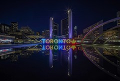 Yes! Toronto! (karinavera) Tags: city longexposure night photography cityscape urban ilcea7m2 canada toronto