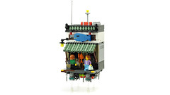 AirCity - Seafood shop (de-marco) Tags: lego town city ninjago store shop buildings floating flying