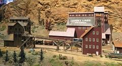 Lucky Lass Mine at CMRM (atjoe1972) Tags: model train railroad ho scale 187 layout cmrm coloradomodelrailroadmuseum greeley colorado atjoe1972 luckylass mine ore gold mill silverking