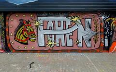 Schuttersveld (oerendhard1) Tags: graffiti streetart urban art rotterdam oerendhard crooswijk schuttersveld pohen crew wesp hbs 180cc 9mm wrs daniel fubu