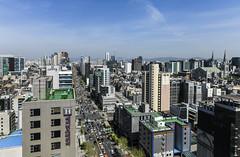 overworld (matteroffactSH) Tags: korea south southkorea seoul asia urban megacity huge buildings architecture gangnam jong no jongno nikon d850 andrew rochfort andrewrochfort matteroffact spring 2018 dense density view vista skyline skyscrapers cityscape