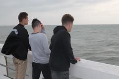 met uitzicht op zee