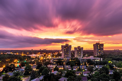 After the rain (Stefen Acepcion) Tags: canada ontario oakville longexposure new afternoon sky flowing movement clouds tree nature landscape sun sunset