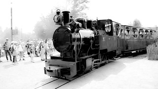 Old Train BW - 5430