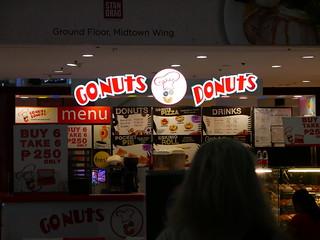 GoNuts Donuts, Manila Mall