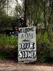 Welcome (Pico 69) Tags: adm hafengebiet anderssein abgeschottet alternativ amsterdam pico69