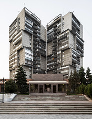 Residential skyscrapers. (Stefano Perego Photography) Tags: stepegphotography stefano perego residential housing building concrete modernism modernist brutalism brutalist soviet modern architecture design central asia